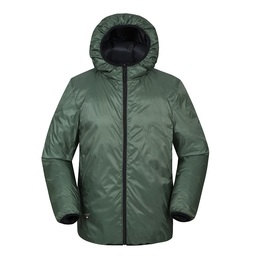 Nylon Casual Custom Men's Duck Down Jacket With Manufacturer China Factory