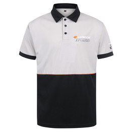 Mesh Short Sleeve Uniform Print Custom Mesh Polo Shirt With Manufacturer China Factory