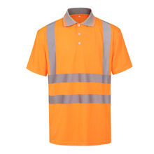 men's hi vis polo shirt
