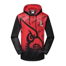 Plain Dyed Embroidery Custom Full Face Unisex Hoodies With Manufacturer China Factory