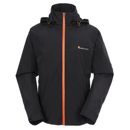 breathable men's rain jacket