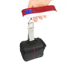 2 in 1 Popular 50kg Digital Scientific Handheld Weighing Luggage Scale