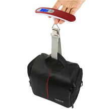 ABS Plastic 50kg Electronic Weighing Hanging Luggage Scale
