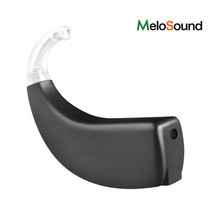 Fashion Affordable Swan Digital BTE Hearing Aid With Charge Case