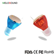 Fashion New Design ODM Invisible Rechargeable Mini CIC Hearing Aids