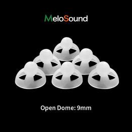 Open Fit Silicone Open Domes Thin Tube Brush Accessory Parts