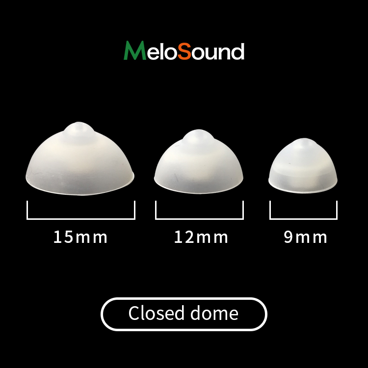 China Close BTE Hearing Aid Silicone Domes Parts