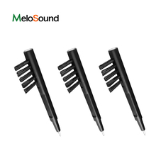 Hearing Aids ABS And Nylon Cleaning Brush With Wax Loop And Magnet
