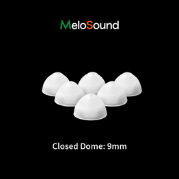 Silicone Close Domes Ear Tip Thick Tube Brush Accessories For Close BTE Hearing Aid