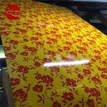 China cheap flower printing PPGI special pattern coated steel sheet coil camouflage color coated steel coil PPGI