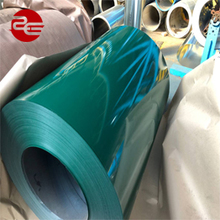 New and hot unique design 0.4mm color coated prepainted galvanized steel coil PPGI colored sheet metal