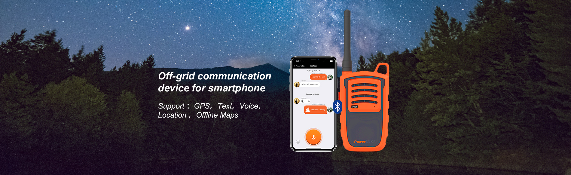 wireless walkie talkie phone