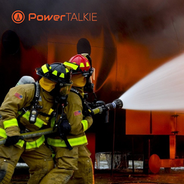 Power talkie suitable for firefighting SOS function good emergency deive