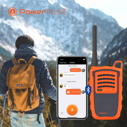 Outdoor power talkie two way radio walkie talkie