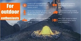 The power intercom is the latest off grid communication device for outdoor enthusiasts