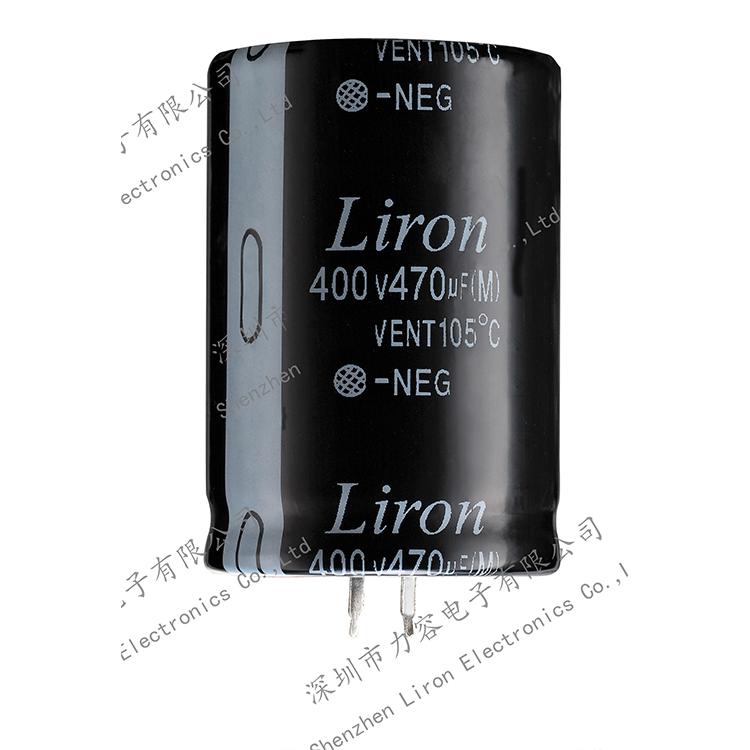 Liron LKH snap in aluminum electrolytic capacitor with high operating temperature long lifetime high ripple current  from china capacitor
