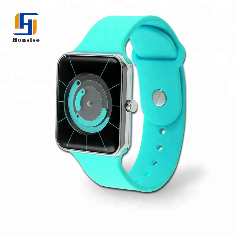 Analog Plastic Case Watch For Men Women