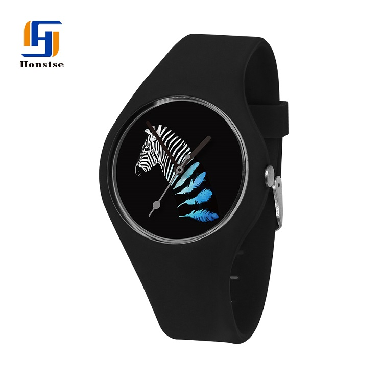 High Quality Silicone Watch For Ladies