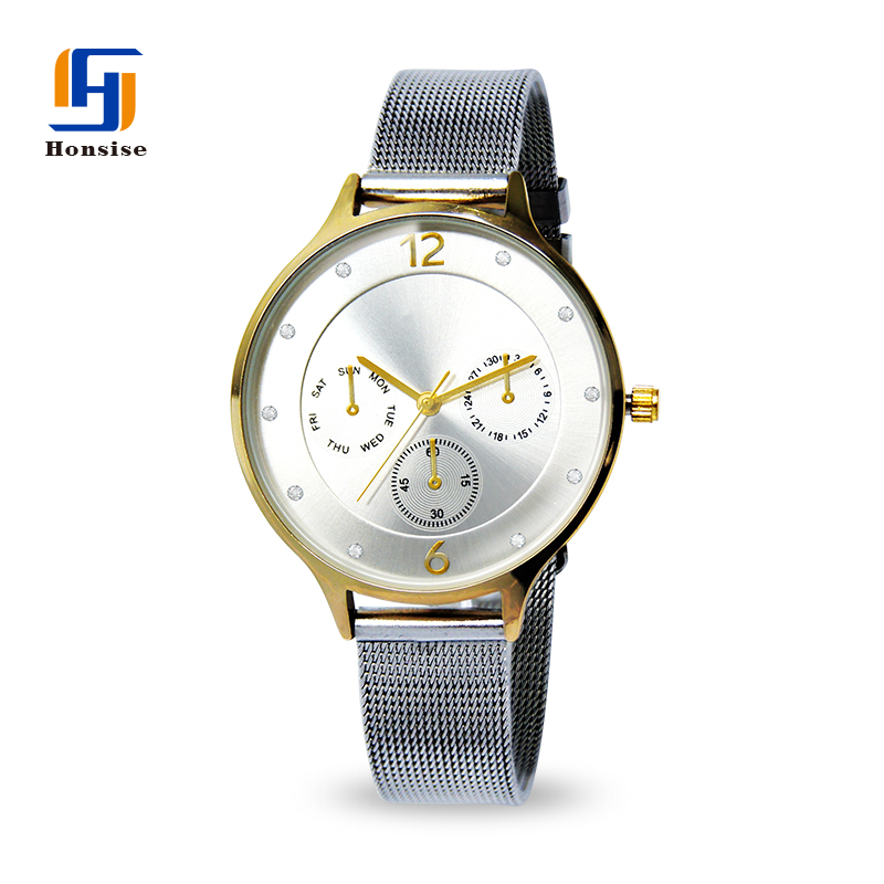 Mesh Lady Quartz Watch