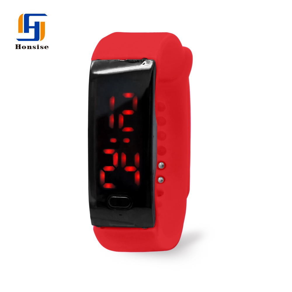 Touch Screen Silicone Digital Led Bracelet Sport Watch