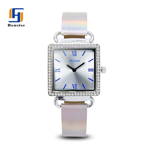 Water Resistance New Charm Fashion Luxury Quartz Beautiful Ladies Alloy Diamond Wrist Watch