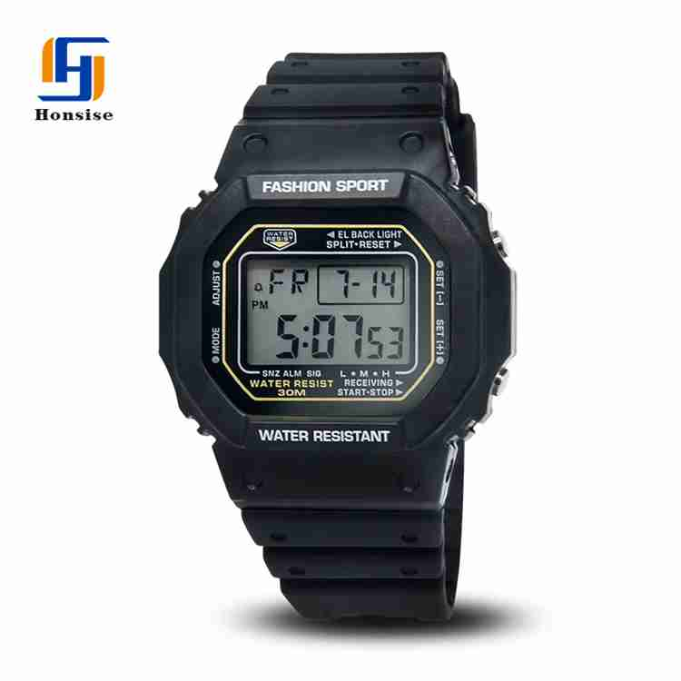 Fashion Analog Digital Sport Alarm Wrist Watch