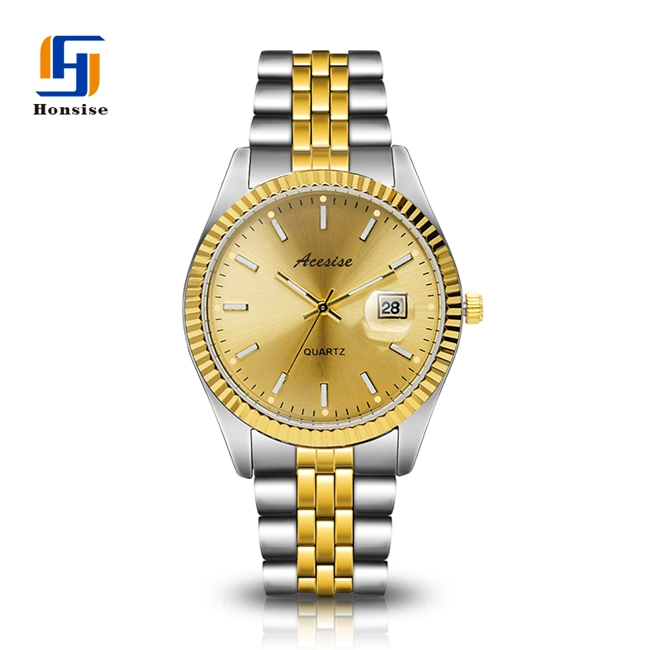 Gentleman Stainless Steel Strap Custom private label Luxury Men watch