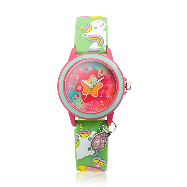 3d Cartoon Kid Silicone Strap Custom Brand 3d Printed Watches