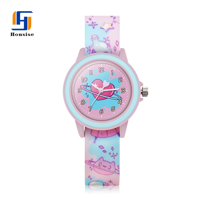 Colored Watch Strap girl Animal Fashion Silicone Boy Soft Kids Watches With Cartoon Kid Toy Watch