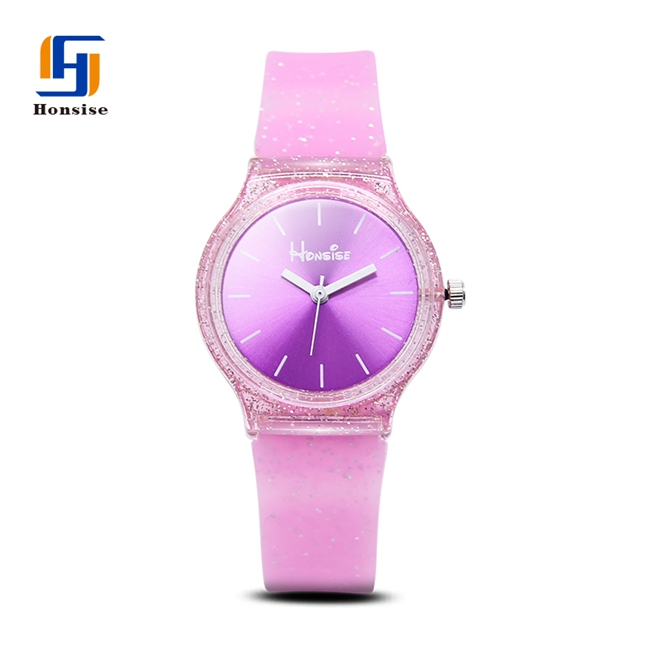 Glister Silicone Children Cheap Wrist Watches