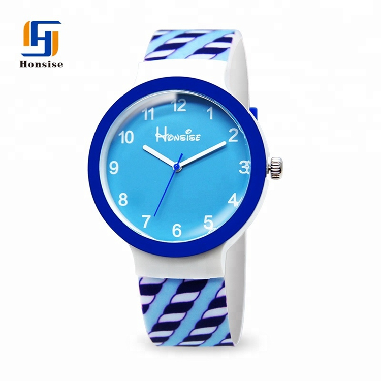 Colorful Pattern Printing New Arrival Quartz Watch For Different Group People