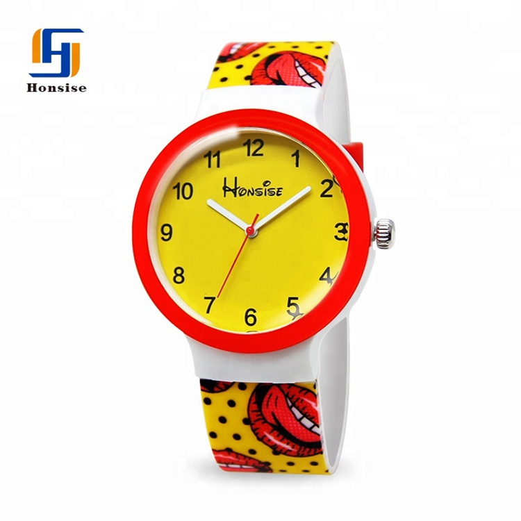 Hot Selling High Quality Water Reisitant Watch Logo Customized Dial And Strap