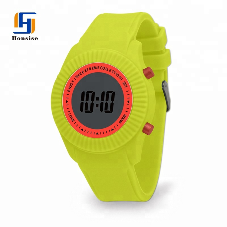 Promotional Gift Rubber Band Multicolor Watch For Kids