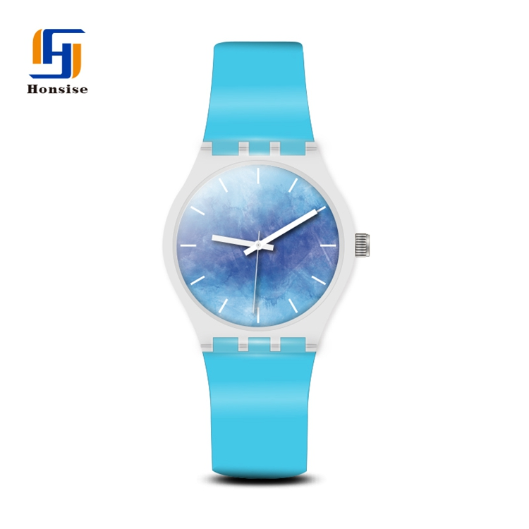 Custom ODM Manufacturer fashion no brand girls waterproof analog plastic wrist gift watch