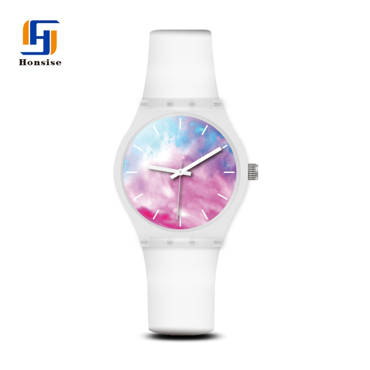 2021 Newest Colorful Silicone Unisex Quartz Wrist Watches Fashion Watch Movement Miyota Watch My Girlfriend