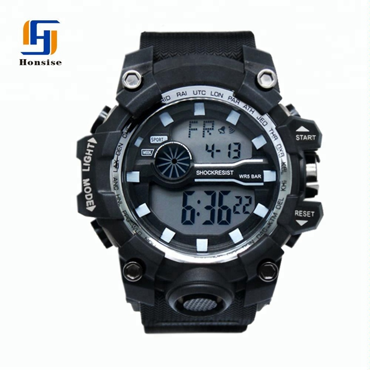 Selling Multifunction Men Chronograph Sports Digital Watch