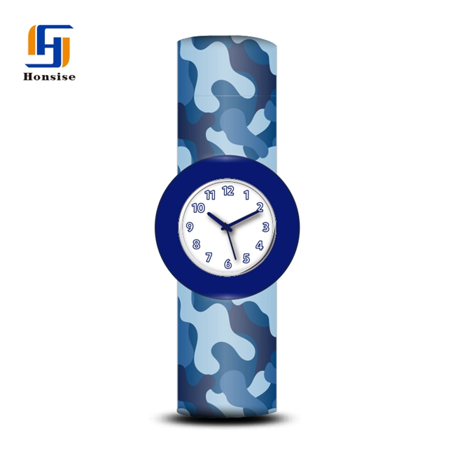 Silicone Watch Band Children 3D slap watch Bulk Wholesale Kids slap watches for Christmas Gifts