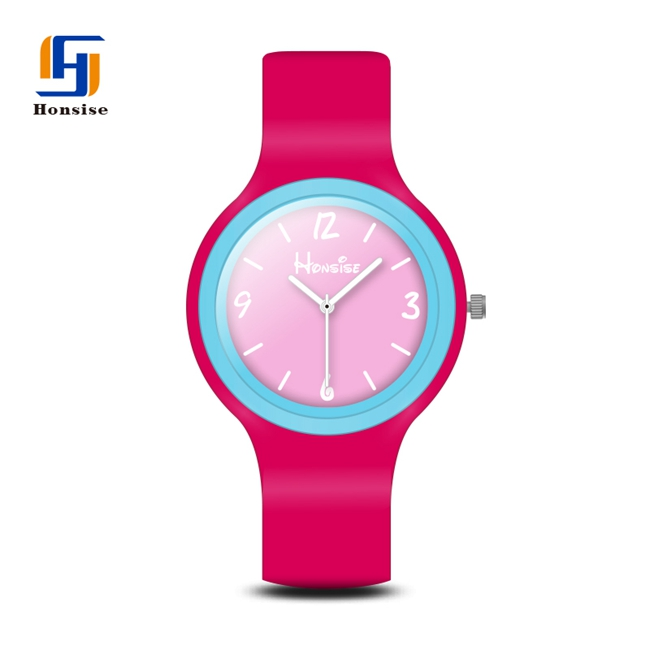 Fashion Custom Silicone Watch Bands Kids Oem Plastic Watch