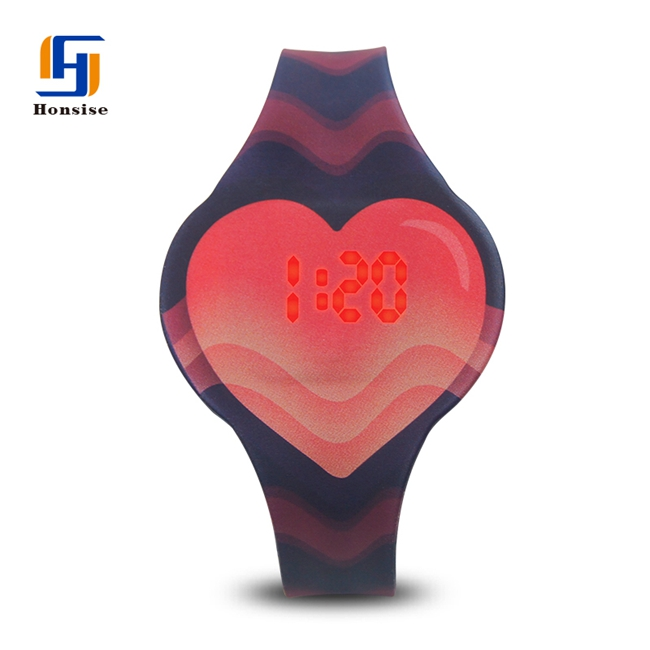 Touch Digital Fashion Red Water Resist Touch Screen Watches Led Lava Watch