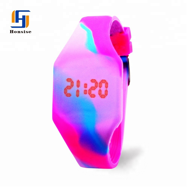 2021 Mixed Color  Kids Watches Children LED Display