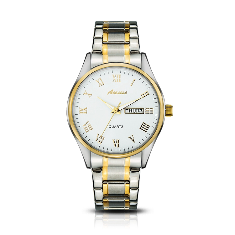 Waterproof Design Unique Golden Hour Man Watch Steel, Latest Watch For Man