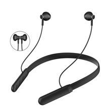 wireless neckband bluetooth bluetooth necklace neck bluetooth earphones with microphones