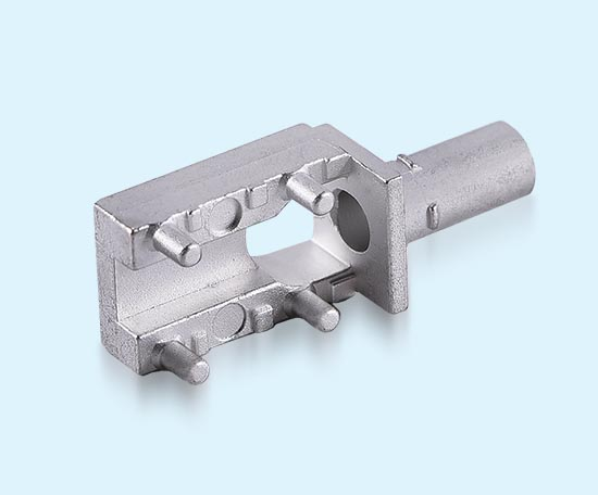 Tin plating zamak 5 zinc die casting metal housing for HSD connector