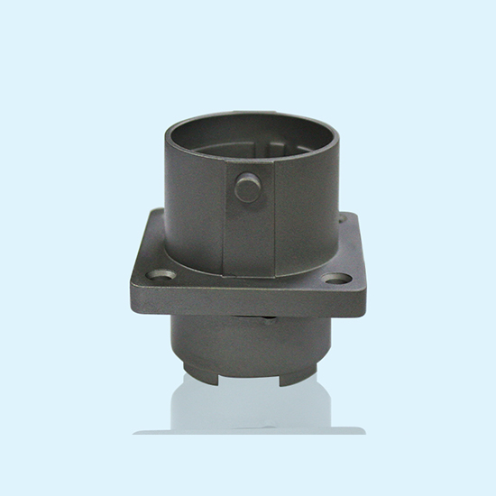 China High Precision Aluminum Alloy Flange Pass 720hours Salt Spray Test  For Automotive Connector