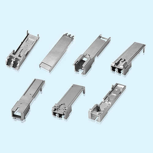 Zinc Alloy Die Casting Metal Communication Connector Enclosure: SFP Back Shell