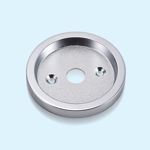 Custom Zinc Alloy Die Casting Disc-shaped Base Equipped with Handle Ring