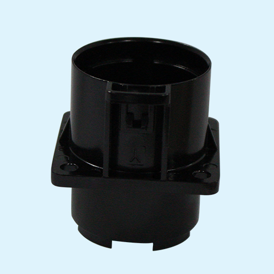 E-coating Zinc Alloy Die Casting Metal Flange Connector Enclosures Passed 720H Salt Spray Test