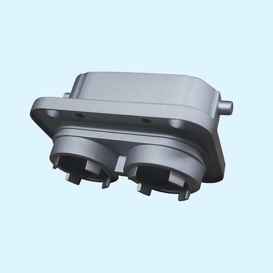 Zi-Ni Alloy Plating Aluminum Die Casting Connector Plug That Pass 720H Salt Spray Test