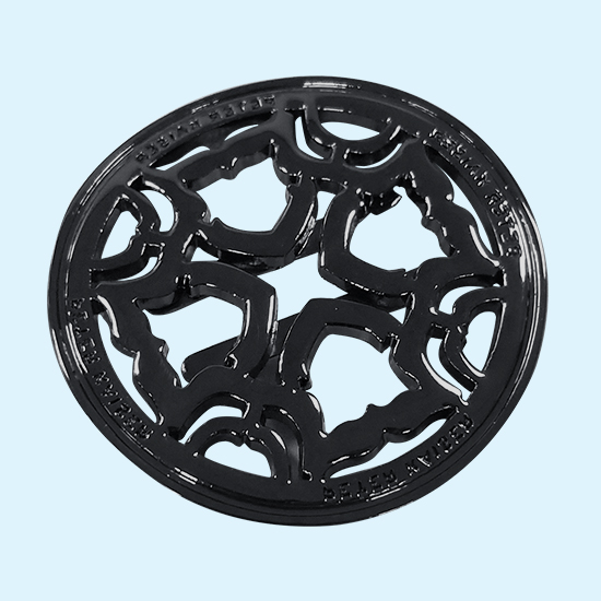 Zinc Alloy Die Casting Decorative Circle Ring With High Precision And Beautiful Appearance
