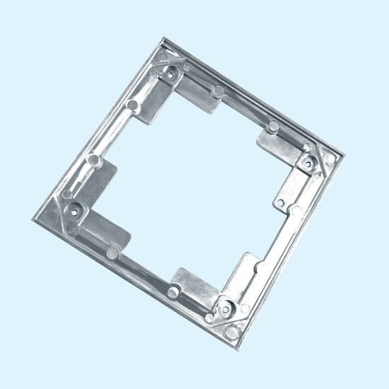 Zinc Alloy Die Casting Frame For Metal Furniture Hardware With High Quality In China